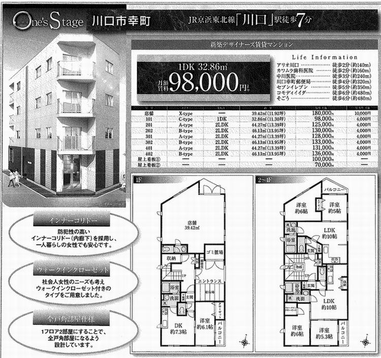 川口市(埼玉県)のペット可・相談可の賃貸マンショ …